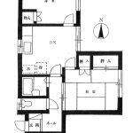 シイバハイツ202号室間取り(間取)